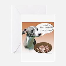 Iggy Turkey Greeting Card