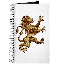 Renaissance Lion (gold) Journal