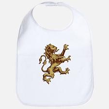 Renaissance Lion (gold) Bib