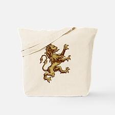 Renaissance Lion (gold) Tote Bag