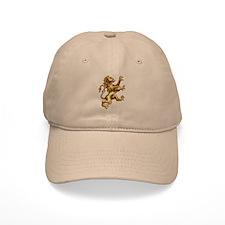 Renaissance Lion (gold) Baseball Cap