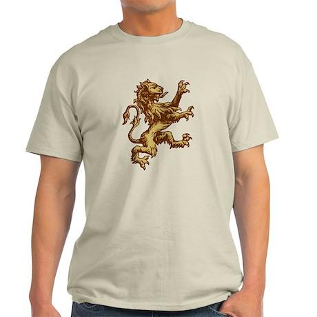 Renaissance Lion (gold) Light T-Shirt