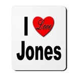 I Love Jones Mousepad