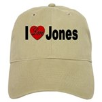 I Love Jones Cap