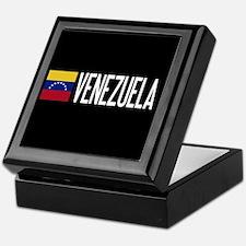 Venezuela: Venezuelan Flag & Venezuel Keepsake Box