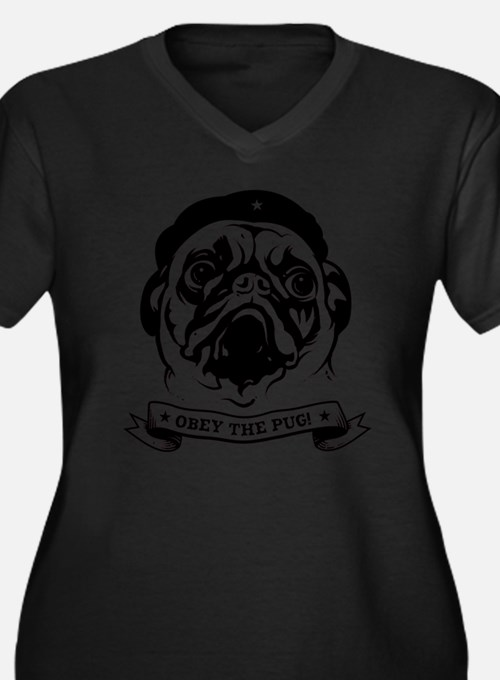 pug_4red Plus Size T-Shirt