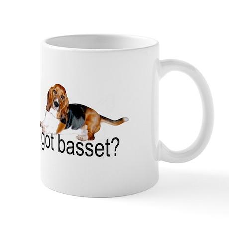 got basset? Tri-color Mug