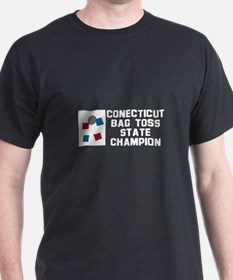 Connecticut Bag Toss State Ch T-Shirt