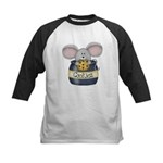 Mouse in Cookie Jar Kids Baseball Jersey