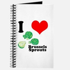 I Heart (Love) Brussels Sprouts Journal