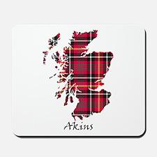 Map - Akins Mousepad