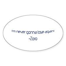 Zoro Oval Decal