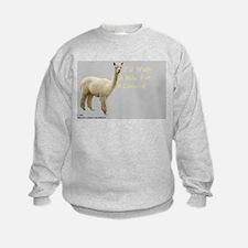 I'd walk a mile for a camelid Sweatshirt