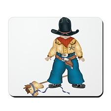 Little Cowboy Mousepad