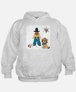 Sheriff and His Dog Hoodie