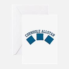Cornhole Allstar Greeting Cards (Pk of 10)