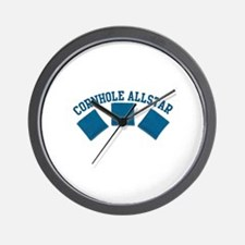 Cornhole Allstar Wall Clock