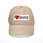 I Love Genealogy Cap