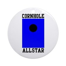 Cornhole Allstar Ornament (Round)