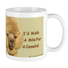 I'd Walk A Mile For A Camelid Mug
