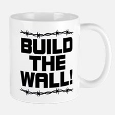 BUILD THE WALL! Small Small Mug