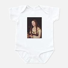 Medieval Gothic Woman Infant Bodysuit