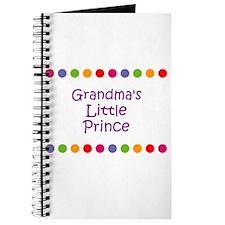 Grandma's Little Prince Journal
