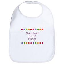 Grandma's Little Prince Bib