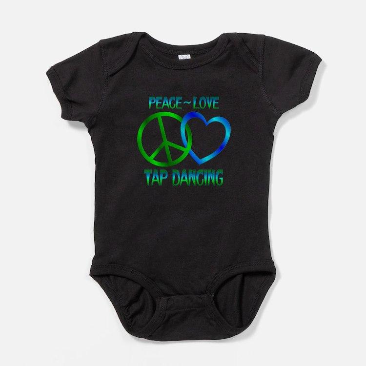 Cute Tap dancer Baby Bodysuit