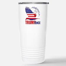 Trump Pence America 1st Travel Mug