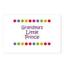Grandma's Little Prince Postcards (Package of 8)