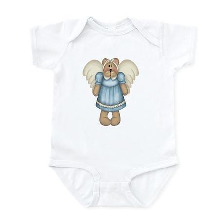 Blue Bear Angel Infant Bodysuit