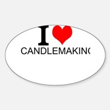 I Love Candlemaking Decal