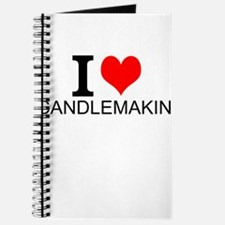 I Love Candlemaking Journal