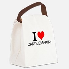 I Love Candlemaking Canvas Lunch Bag