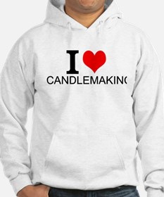 I Love Candlemaking Hoodie