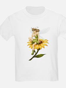 Fairy on a Sunflower T-Shirt
