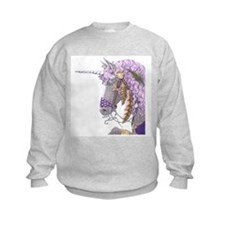 Purple Unicorn Sweatshirt
