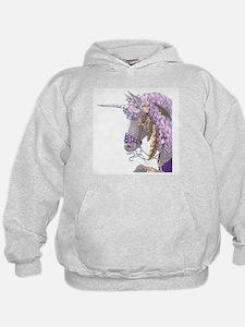 Purple Unicorn Hoody