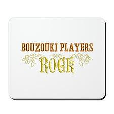 Bouzouki Players Mousepad