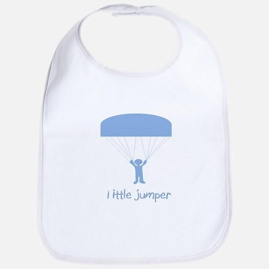 Little Jumper Blue Bib