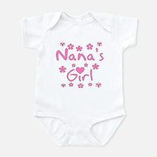 """""""Nana's Girl"""" Baby Girl Infant Creeper"""