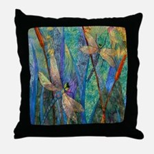 Cute Dragonfly Throw Pillow