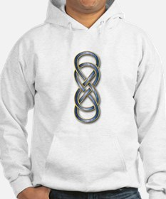 Double Infinity Cloisonne Blue Hoodie