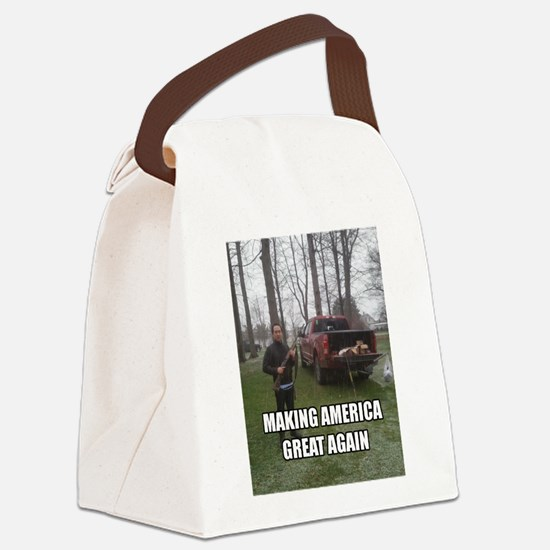 GREAT AMER PRODUCTS Canvas Lunch Bag