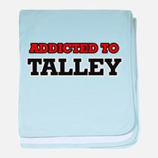 Addicted to Talley baby blanket
