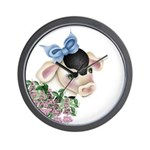 Dairy Cow Wall Clock