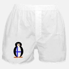 Penguin Flag Finland Boxer Shorts