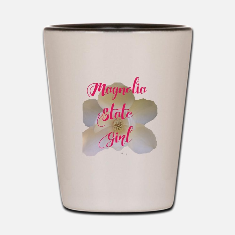 Magnolia State Girl Shot Glass