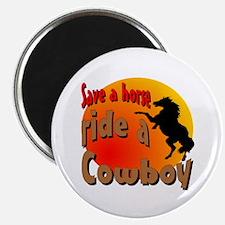 Ride a Cowboy Magnet